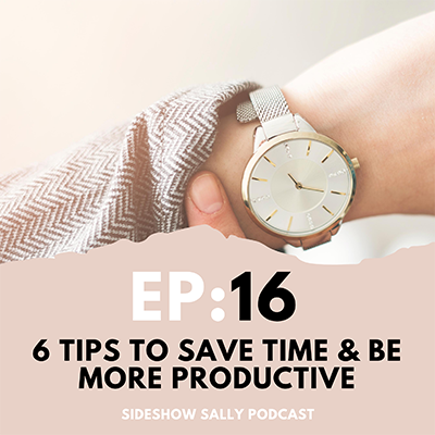 6 tips to save time and be more productive