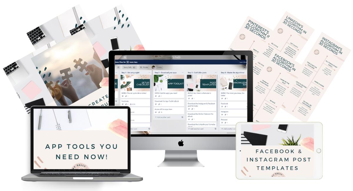 social media makeover kit