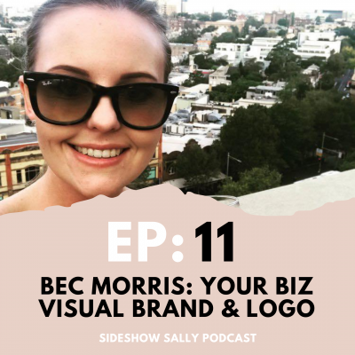 Your business visual brand and logo with Bec Morris